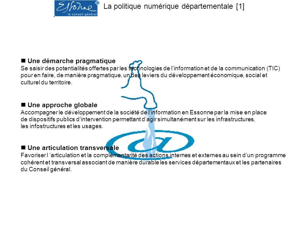 La politique numérique départementale [1]